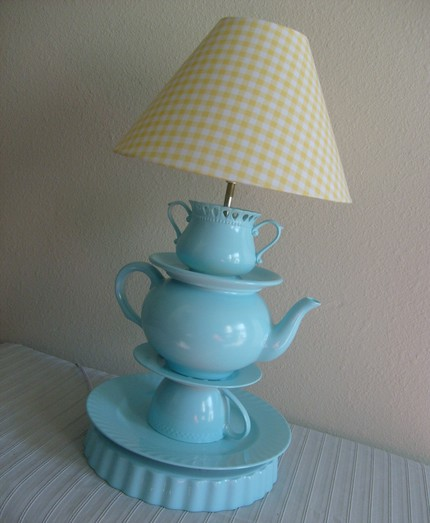 tea set lamp